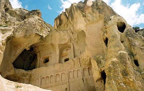 Пещерные поселения Каппадокии